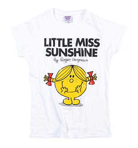 2404e3f9ab Damas Blanco Little Miss Sunshine T Shirt