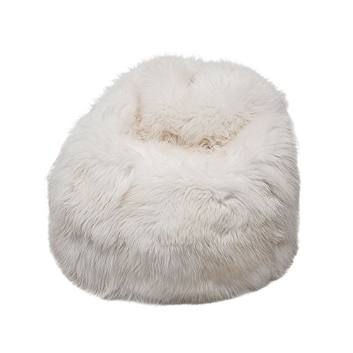 Natural British Sheepskin Bean Bag – Genuine Sheepskin