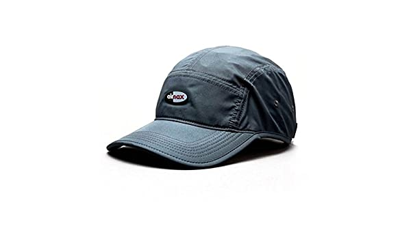 best authentic 15e63 87723 Nike U NK Aw84 Cap Airmax QS Cap for Man, Grey (Anthracite), One Size   Amazon.co.uk  Sports   Outdoors