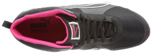 Puma Flextrainer Mid Wn's, Scarpe sportive outdoor donna Schwarz (black-white 01)