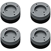 Rfvtgb - 4 cuscinetti anti-vibrazione per piedi, in gomma, per lavatrice, antiscivolo, universali, solidi