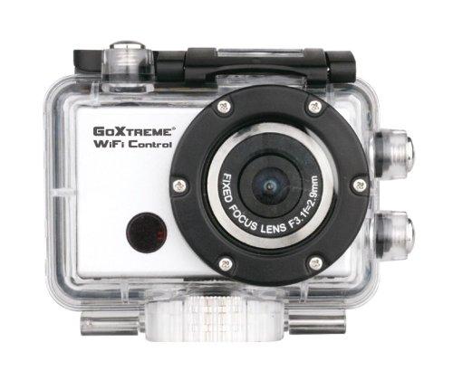 Easypix GoXtreme WiFi Control Full HD Aktion Kamera (Digitale Monochrom-LCD-Status-Anzeige, 5 Megapixel Sensor, 1080P, HDMI, USB 2.0)