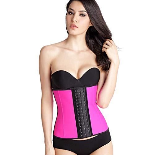 Cinturón moldeador para el cuerpo adelgazante para mujeres, estabilizador abdominal Cinturón transpirable de cintura faja - Cinturón recortador de cintura, XXL