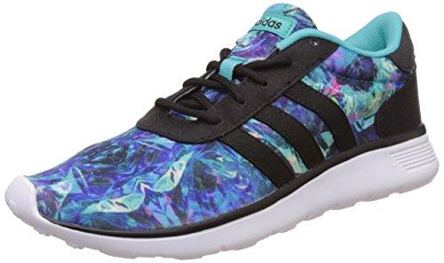 adidas Lite Racer W, Chaussures de Sport Femme Azul (Menint / Negbas / Ftwbla)