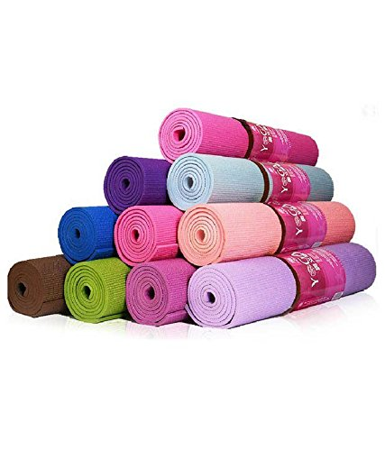 Shopee PVC Yoga Mat for Exercise and Meditation,3mm