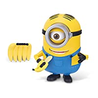 Minions Deluxe Action Figures 15cm Banana Munching Stuart