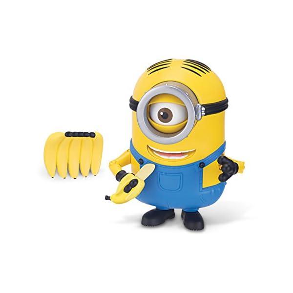 The Minions Deluxe Action Figure [Banana Munching Stuart] 1
