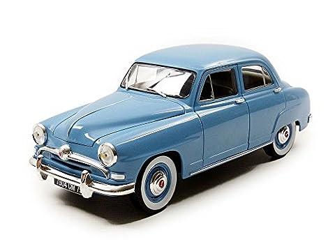 Norev - 185741 - Véhicule Miniature - Simca Aronde - 1954 - Echelle 1/18, Bleu