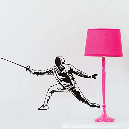Knncch Wohnzimmer Sofa Hintergrund Fencer Wandaufkleber Vinyl Wasserdichte Selbstklebende Home Deocr Decals Abnehmbare Kinderzimmer Schablone