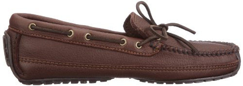 Minnetonka 752x Moosehide Weekend Moc, Mocassins Homme Marron (Chocolate)