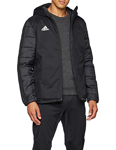 adidas Herren Jacket 18 Winterjacke, Black/White, M