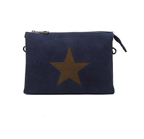 Gran Descuento Precio Barato OBC Bags&More Portafoglio da viaggio - Bordo 2xFach (Strass Stella) blu scuro con stella 3xfach Grandes Ofertas Descuento Grande De Salida R54VFZq8Gd