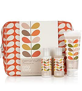 Gifts & Sets by Orla Kiely Geranium Toiletry Bag Gift Set