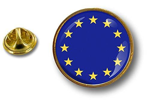 Akacha pin flaggen Button pins anstecker Anstecknadel kokarde Fahne Europa Europe Union
