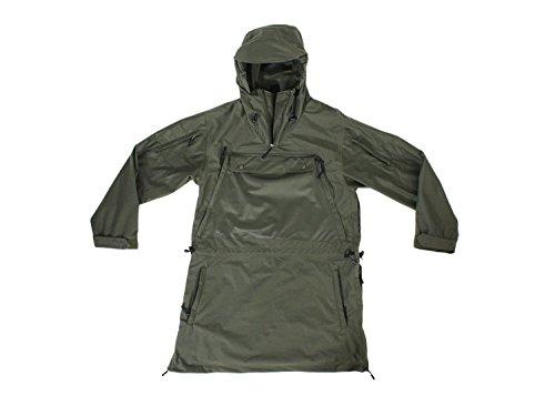 BE-X Anorak Forest Walker, lautlos und wasserdicht, für Scharfschützen, Jagd und Outdoor, olive XL