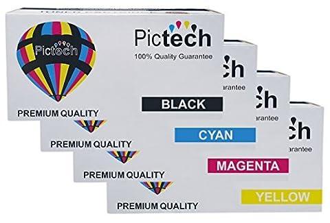Pictech® Compatible Toner Cartridges Replacement for HP CE410X CE411A CE412A CE413A / 305A for HP Colour Laserjet Pro 300 M351A MFP M375NW Pro 400 M451DN M451DW M451NW MFP M475DN MFP M475DW Printers (1
