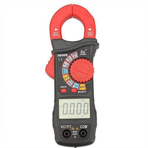 KKmoon Pinza amperimétrica digital Amp Volt Ohmetro