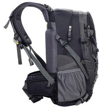 Outdoor-Rucksack Tasche schwarz 28L Black