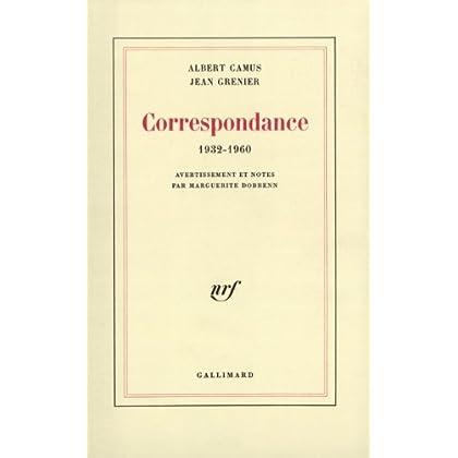 Correspondance 1932-1960