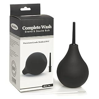 Premium Enema Bulb Douche Safe Comfortable Nozzle Silicone Enema Kit for Men Women FDA Certified Comfortable Medical Kits Fast Constipation Relief