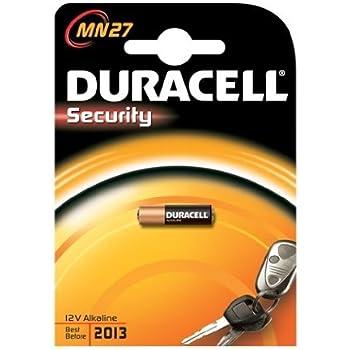 Duracell MN27 Alcalino 12V batería no-recargable - Pilas (Alcalino, Cilíndrico, 12 V, Negro, Naranja, 9 g, 84 x 11 x 119 mm)