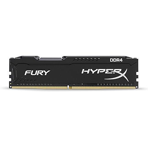 HyperX HX426C15FB/4 Fury Schwarz Arbeitsspeicher, DDR4, 4GB, 2666MHz, CL15, DIMM XMP