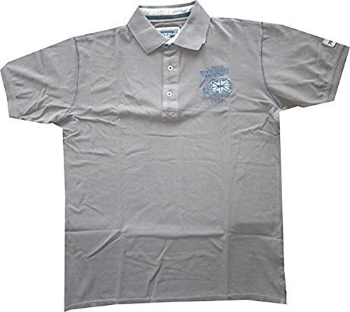 Redfield Pikee Poloshirt für Den Herren von Taupe