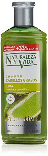 Naturaleza y Vida Shampoo Sensitive Capelli Graso - 400 ml