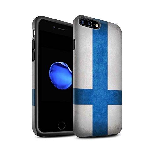 STUFF4 Matte Harten Stoßfest Hülle / Case für Apple iPhone 6 / Albanien/Albanisch Muster / Flagge Kollektion Finnland/Finnische