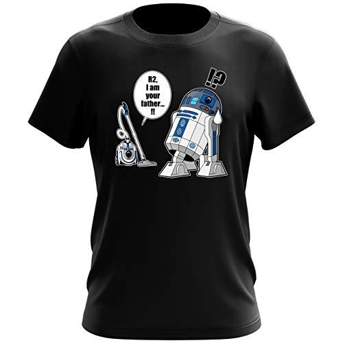 T-Shirt Geek - Parodie Star Wars - R2... Je suis...