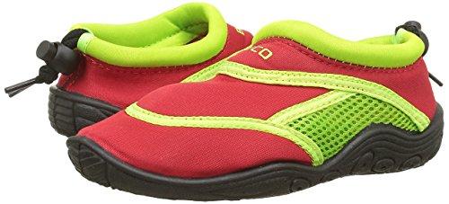 Beco Chaussons de surf Enfant 92171-58 rouge/vert