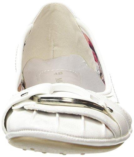 Marco Tozzi 22130, Ballerines femme Blanc - Blanc (100)