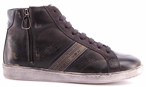 Scarpe Uomo Sneakers LA MARTINA L2006236 Ascot Grey Camoscio Grafite Vintage New