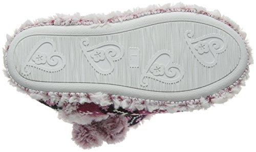 Dunlop - Abelle, Pantofole Donna Rosa (Rosa (Fuchsia))