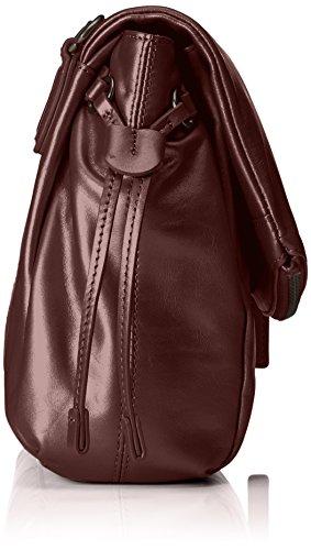 Liebeskind Berlin Damen Narita7w Pearl Umhängetasche, 11x23x29 cm Rot (Burgundy)