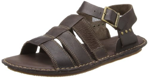 Timberland Herren Earthkeepers Harbor Point Back Strap Sandals Dark Brown 5146A