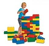 LEGO Soft Steine Set 5003 / geschäumtes Material / 84 lebensgroße, farbenfrohe Elemente für Kinder von 2 - 5 Jahren geeignet!