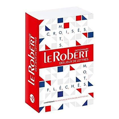 Le Robert des Jeux de Lettres Poche - Dictionnaire de mots croisés, mots fléchés