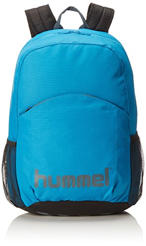 Hummel - Zaino unisex Authentic, Unisex, Zaino, Rucksack AUTHENTIC BACK PACK, Methyl Blue/Dark Slate, Taglia unica