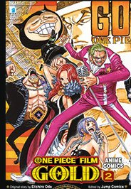 = One piece gold: il film: 2 italiano libri