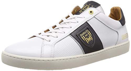 Pantofola d'Oro Sorrento Uomo Low, Scarpe da Ginnastica Basse, Bianco (Bright White .1FG), 42 EU