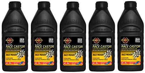 Penrite Oil 10 Tenths Race Olio Sintetico di ricino 20W40, a Due Tempi, Rotary Rx7 Rx5, 5 Litri