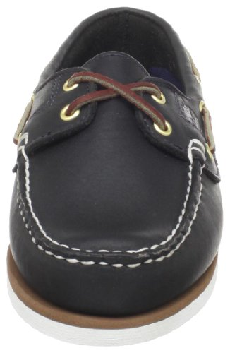 Timberland Classic Boat FTW Amherst 2 Eye Boat Shoe 72332 Damen Bootsschuhe Blau (Navy Smooth)