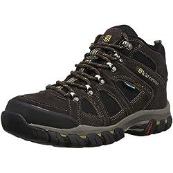 Karrimor Bodmin Mid IV Weathertite - Zapatos de trekking, Hombre, Marrón (Dark Brown), 43