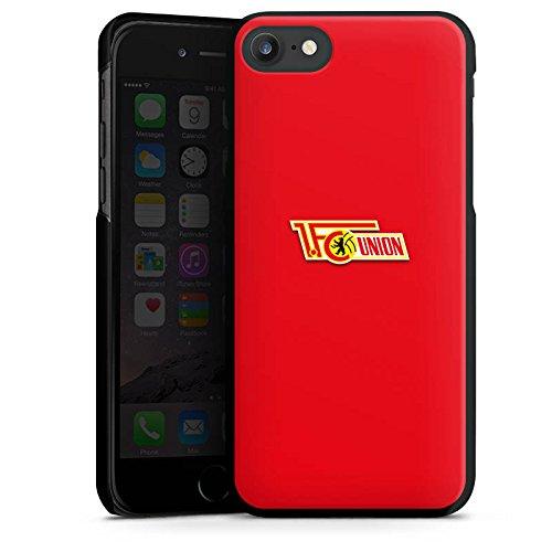 Apple iPhone X Silikon Hülle Case Schutzhülle 1. FC Union Berlin Fanartikel Fußball Hard Case schwarz