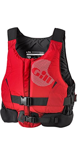 Gill Pro Racer Front-Kajak-Jolle Segeln PFD Auftriebshilfe für Wassersport Rot - Einfacher Front-RV-Zugang -