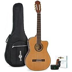 Pack avec Guitare Electro-Classique Thinline par Gear4music