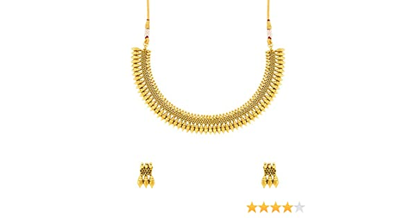 208f0ec772c3d Voylla Copper Choker Necklace for Women (Golden)(8907617486451)