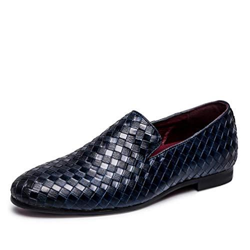 MäNner GelegenheitsSchuhe Rutschen-Auf Das Fahren Oxfords Schuhe MäNner Loafers Moccasins Schuhe FüR MäNner Wohnungen Herren Kleider Schuhe Pantoffeln MäNnlich