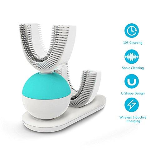 Spazzolino Elettrico Ricaricabile, Ultrasonica Spazzolini da denti elettrici da viaggio bambini & tutti BOYKO